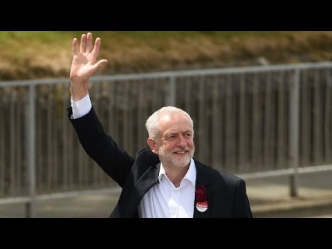 Jeremy Corbyn: The face of UK