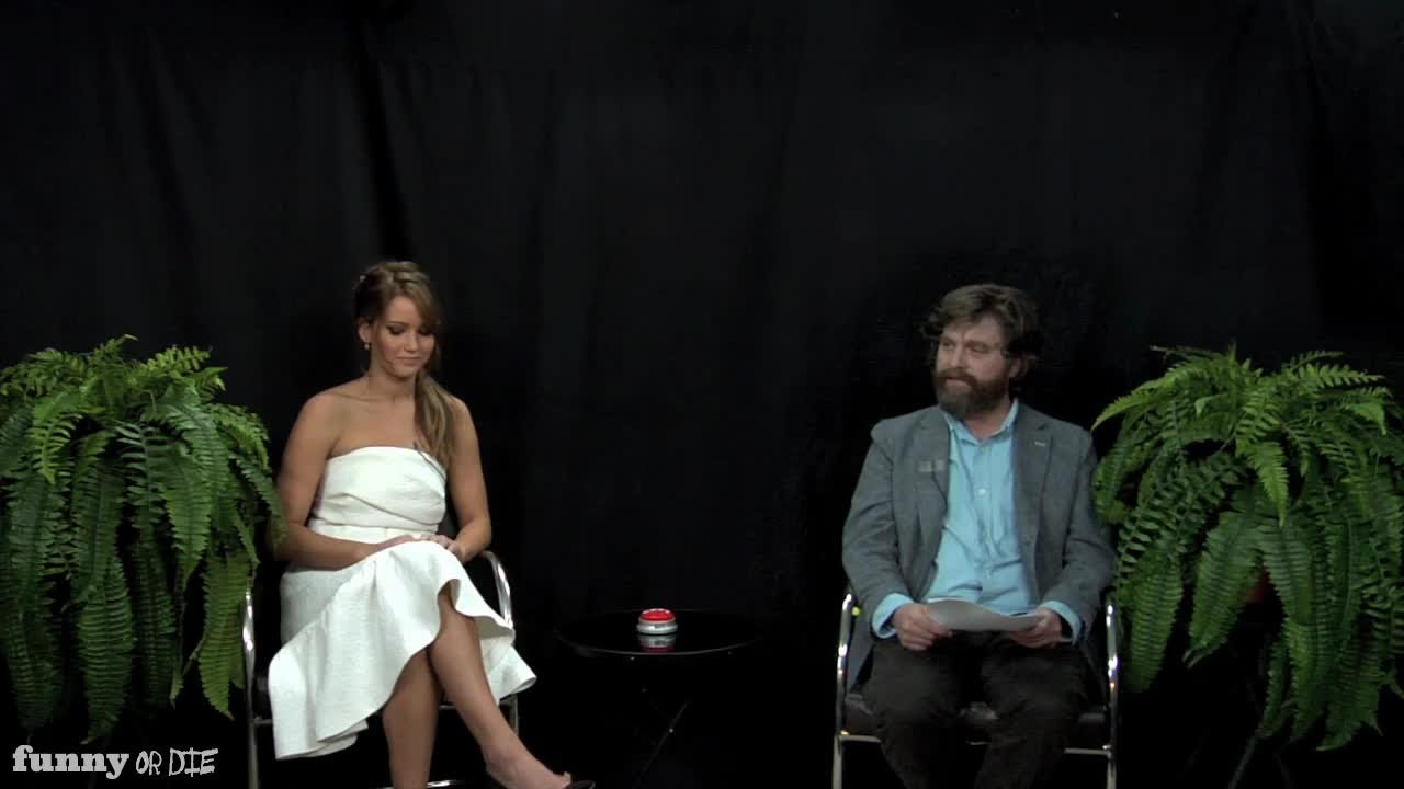 Oscar Buzz Edition Part 1: Between Two Ferns with Zach Galifianakis - YouTube
