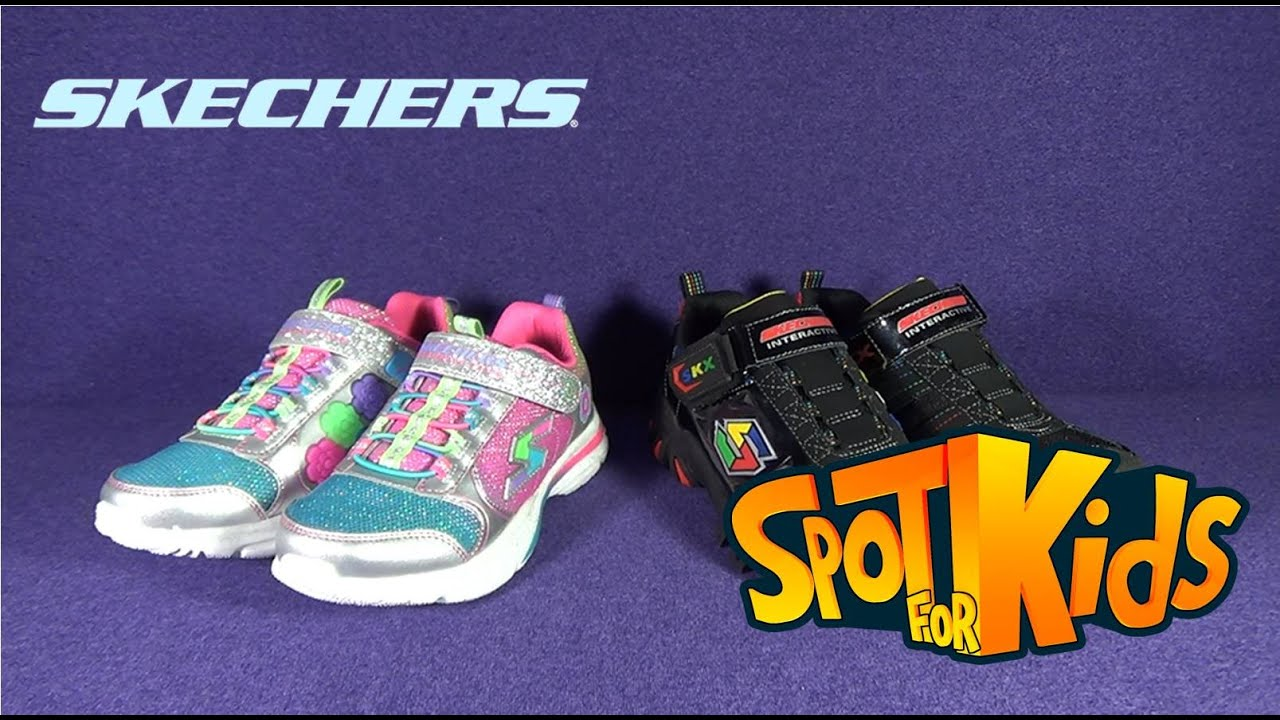 Spot For Kids - Sketchers Interactive Boys and Girls Shoes