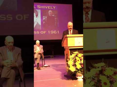 Val Shively's induction ceremony into The Upper Darby High School Wall of Fame November 11, 2016!