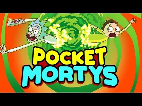 חופשי חופשי - Pocket Mortys- זה פוקימון אבל עם ריק ומורטי!