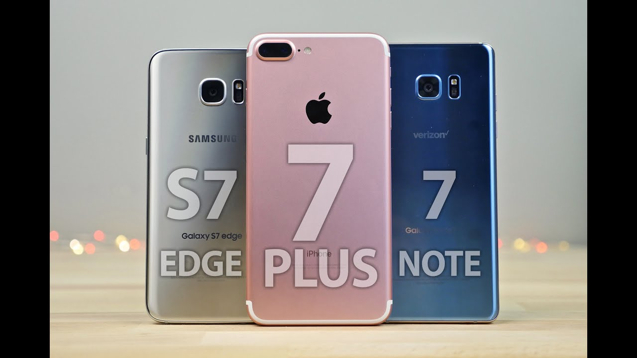 Meglio Iphone 7 O Samsung 6 Edge Plus