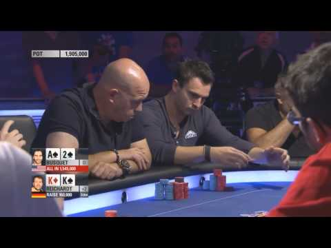 impossible poker hand win - BUSQUET - EPT 11 barcelona final table 2014 HD