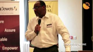 Ade Shonubi - MD NIBSS talks at the 55th Edition of IVC Breakfast Forum (Scoopit.tv Launch)