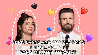 CHRIS EVANS AND ANA DE ARMAS BEING A COUPLE FOR 3 MINUTES STRAIGHT / CHRANA