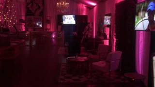 DJ, Lighting, Sound & Video at the Riviera Country Club for the 2016 Northern Trust Open VIP Area