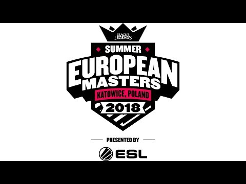 European Masters Summer 2018: Cuartos de final (Domingo)