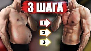 постер к видео Как Убрать Живот В 3 Шага (И Сколько Времени Нужно, Чтобы Похудеть)