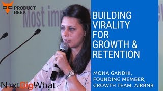 Gambar cover Mona Gandhi (Founding Member, Growth Team, Airbnb): Building virality for growth & retention