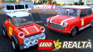 Macchina LEGO contro REALE - Forza Horizon 4 vs
