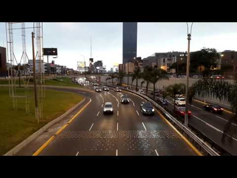 Traffic Timelapse | Avenida Javier Prado - Lima, Perú