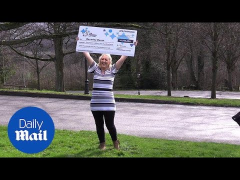 Bev Doran Talks About Her £14.5 Million Lottery Win - Daily Mail