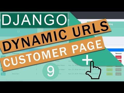 Dynamic URL Routing & Templates   Django (3.0)  Crash Course Tutorials (pt 9)
