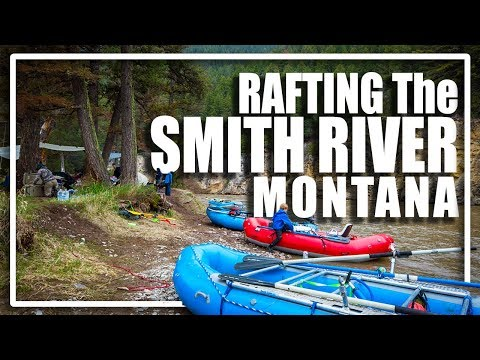 Floating The Smith River Montana (Shortened) - Family Rafting Adventure With Kids