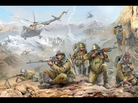 Soviet Afghan War  - Real footage (With Music)
