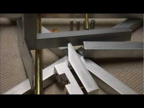 Kendo Bogustand Tsutto - Aluminium/Brass