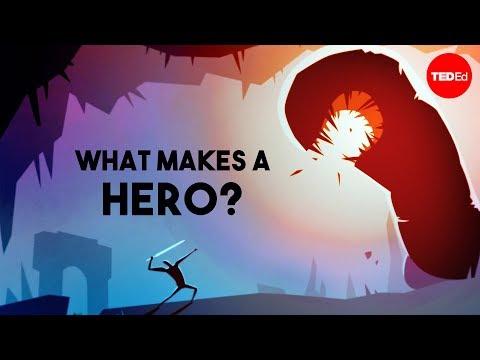 Video image: What makes a hero? - Matthew Winkler
