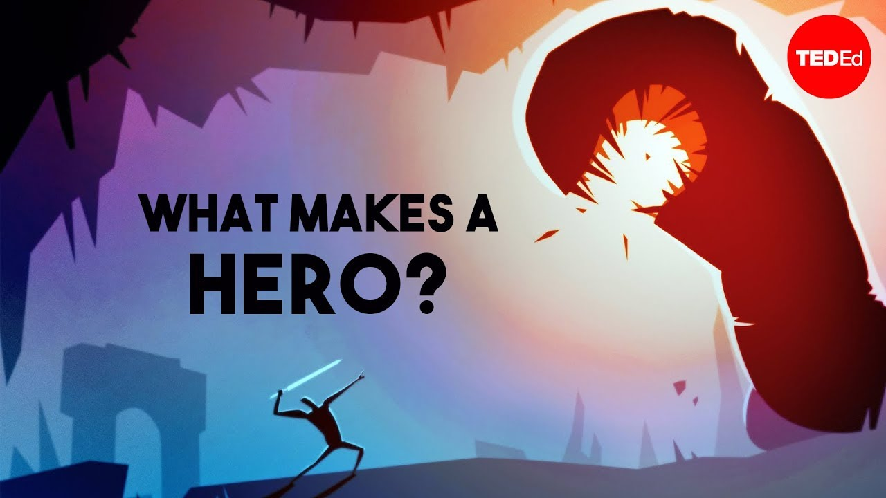 What makes a hero? - Matthew Winkler - YouTube