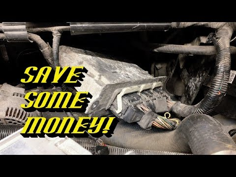 Save Money Using a Junkyard Engine Control Module: DON'T LET YOUR DEALER TELL YOU IT CAN'T BE DONE!