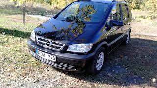 Opel Zafira 1.8l. Авто из Литвы. UAB VIASTELA