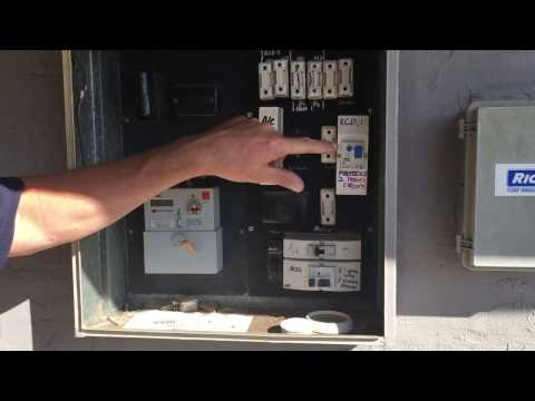 How to check RCD Safety Switches