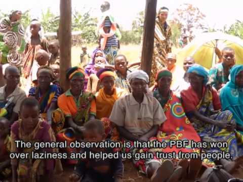 DCR Burundi 2012 - Performance Based Financing (PBF) to improve health services