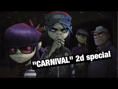 Gorillaz (LIVE) | Carnival 2D SPECIAL (ft. Anthony Hamilton) |