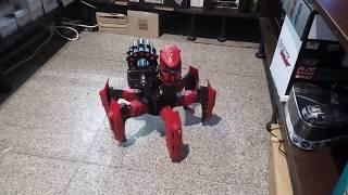 Робот-павук на радіокеруванні Keye Space Warrior ракети, диски, лазер - RCX