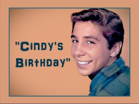 """Cindy's Birthday"" (Lyrics) 💖 JOHNNY CRAWFORD 💖 1962"
