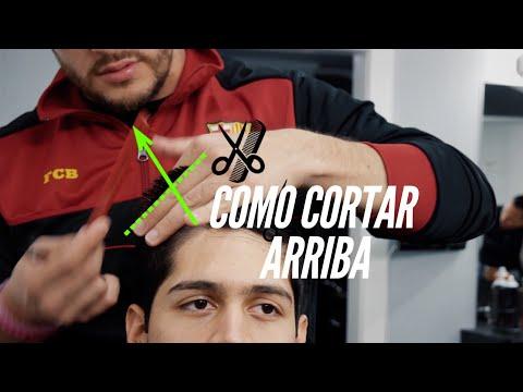 Como cortar la parte de arriba para principiantes - Tutorial de Tijeras
