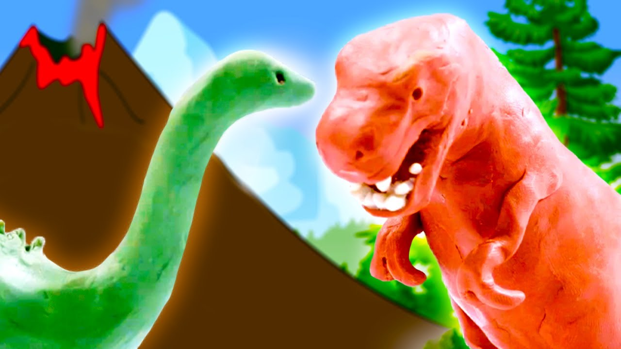 Let's Learn About Dinosaurs!   Educational Videos for Kids   Pocket Preschool