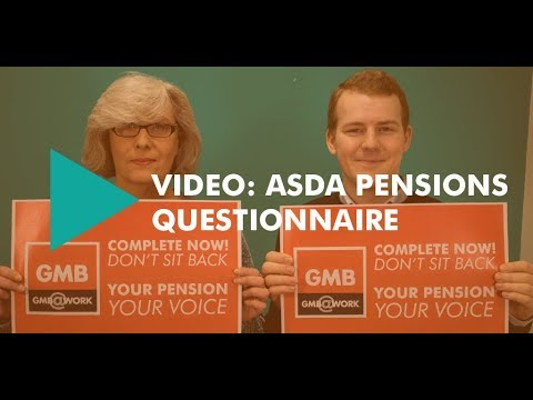ASDA pensions questionnaire - why it's important
