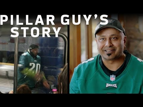 The Story Behind the Philly Pillar Guy | NFL Network