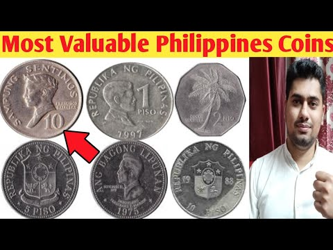 Old Philippines Coins Value and Price | Most Valuable Philippines Coin |  Top Rare Philippines Coins