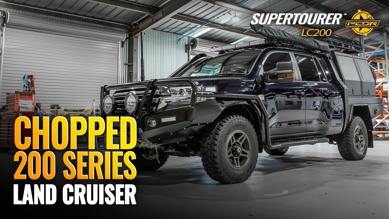 LC200 Supertourer - Chopped 200 Series Land Cruiser