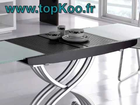 Table basse relevable lena wenge et verre youtube - Table basse relevable wenge ...