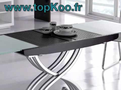 table basse relevable lena wenge et verre youtube. Black Bedroom Furniture Sets. Home Design Ideas