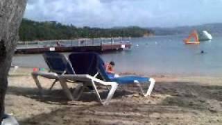 Windjammer Landing Beach.