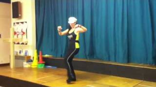 Anelia Zumba class. St Richards School, Ham. Salsa