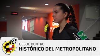 ¡Así vivieron las árbitras DESDE DENTRO el histórico partido del Metropolitano!