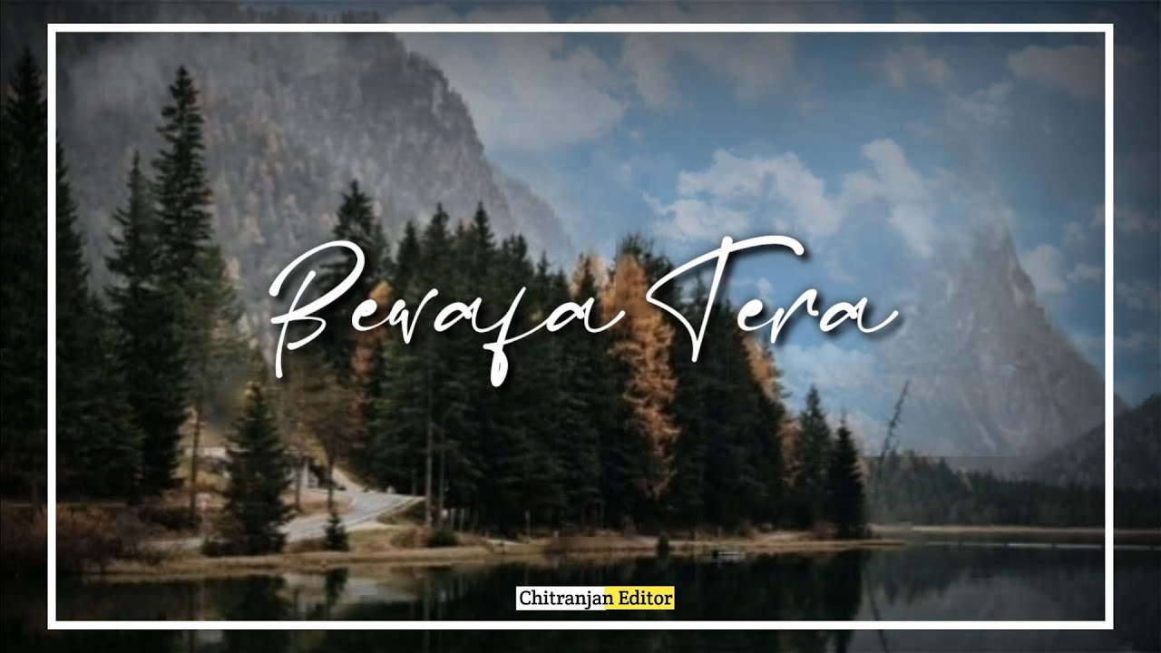 Bewafa Tera Masoom Chehra Whatsapp Status | Jubin nautiyal | New Sad WhatsApp Status Video