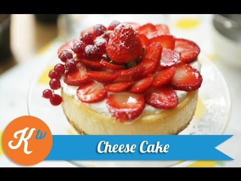 Resep Strawberry Cheese Cake