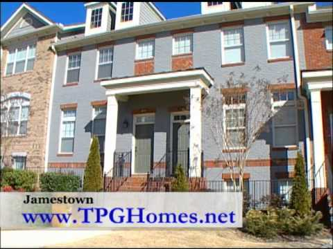 Jamestown in Alpharetta - Low Maintenance and Luxury New Single Family Homes and Townhomes
