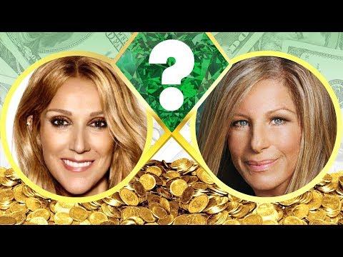 WHO'S RICHER? - Celine Dion or Barbra Streisand? - Net Worth Revealed! (2017)