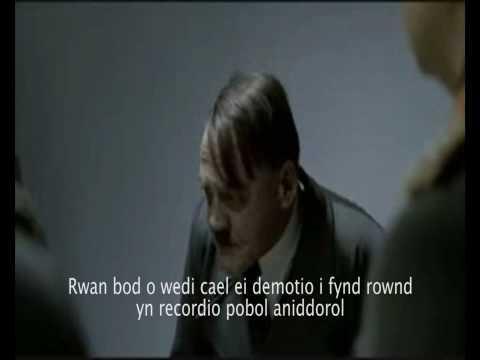 Hitler yn colli Radio Cymru