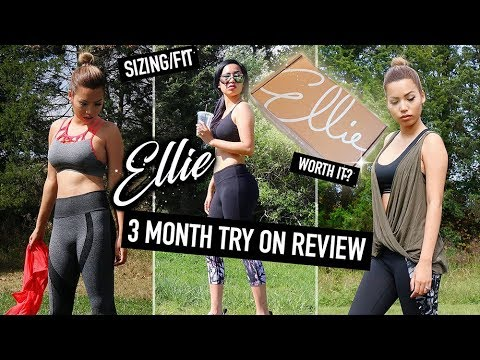 IS IT WORTH THE $$? ELLIE ACTIVEWEAR SUBSCRIPTION BOX | TRY ON REVIEW