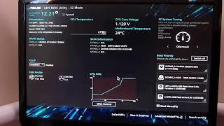 Налаштування UEFI BIOS Utility - EZ Mode для установки Windows