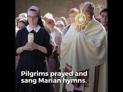 Metuchen diocese holds 9-mile walking pilgrimage for spiritual renewal
