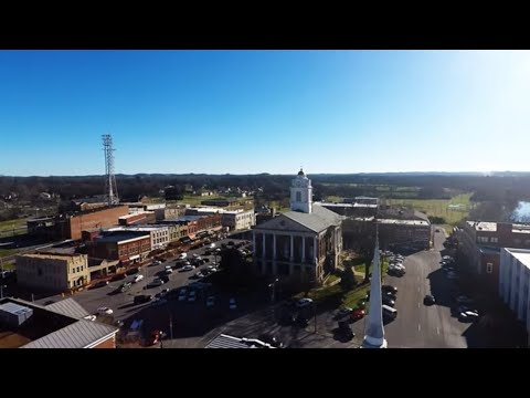 Drone Footage of Shelbyville TN