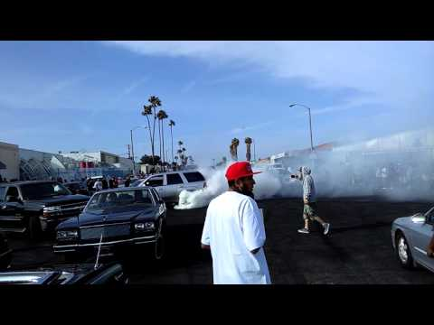 Sunday Broadway ,easter Sunday ,donuts , lowriders , fast cars